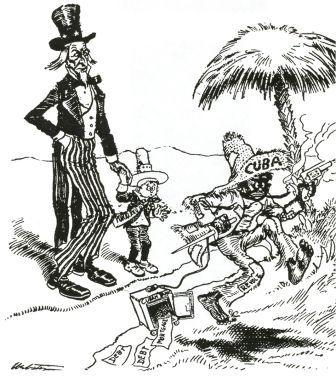 American Imperialism Political Cartoon Activity